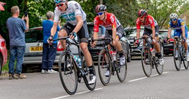 Local Residents and Schools Take a Break to Watch OVO Energy Men's Tour of Britain